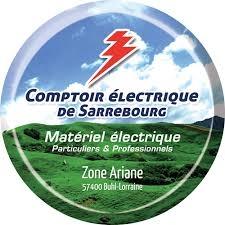 Le COMPTOIR ELECTRIQUE de Sarrebourg soutient le SMSHB !