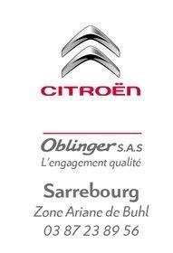 CITROEN OBLINGER SARREBOURG soutient le SMSHB !