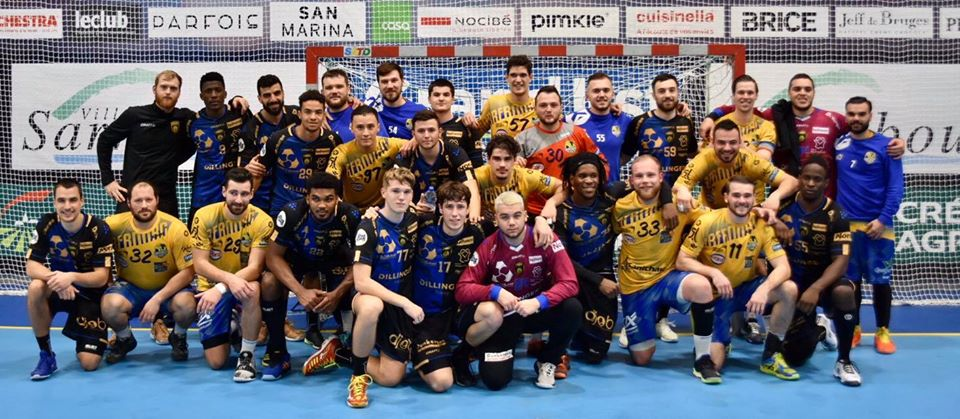 Match handball sarrebourg