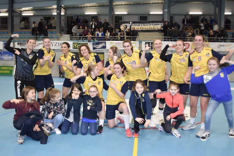 smshb - feminines - 32emes de finale de la coupe de France